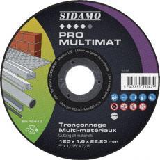 Disques à tronçonner multimatériaux Pro Multimat