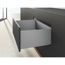 Kits profils côtés AvanTech YOU - tiroir casserolier hauteur 251 mm - Argent