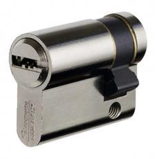Cylindre simple de sûreté type VELIX laiton nickelé 5 clés réversibles brevetées