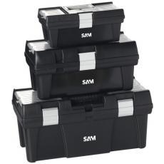 Lot de 3 caisses à outils