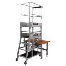 Plate-forme hauteur de travail modulable Gazelle de bureau