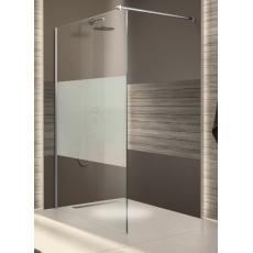 Paroi de douche fixe avec barre de stabilisation Open 2