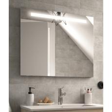 Miroir de salle de bain éclairant Sunset avec système anti-buée