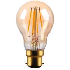 Lampe LED GLS à filament ambrée Vintage