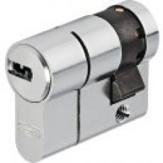 Cylindres D6PS simples variés en laiton nickelé 5 clés