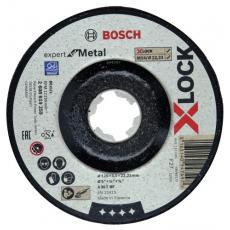 Disque à ébarber métal moyeu déporté Xlock
