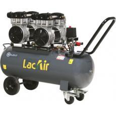 Compresseur d'air électrique silencieux 70 litres 2 x 1,5 CV - Silent Twin 24/70 SH