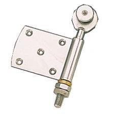 Roulettes simples à demi-charnière pour porte coulissante sur porfil tubulaire