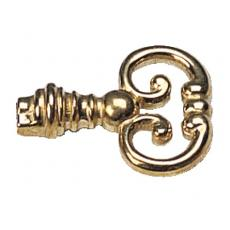 Anneaux de clé fer et laiton - pour vis M4