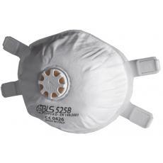 Masque à poussière BLS 525B jetable avec soupape FFP3 R D