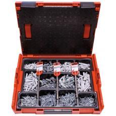 Mallette de chevilles nylon fixation tous matériaux L-Boxx