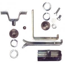 Pivot à sceller de portail pour tube Ø 30, 35 ou 40 mm