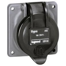 Socle de tableau Hypra IP44 pour prises à brochage domestique