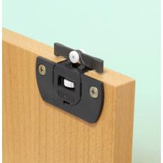 Vantail de 15 kg - Clipo 15H Inslide / Mixslide pour porte en bois - Garniture seule