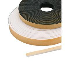 Carton joints mousse polyuréthane blanc rouleaux de 10 mètres
