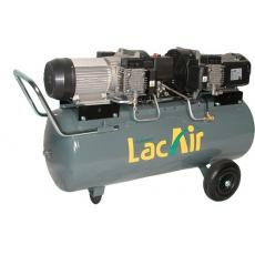 Compresseur d'air à piston 100 litres 2 x 2,3 CV - Maxair 40/100