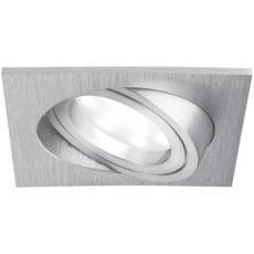 Kit spot orientable encastré LED Coin carré
