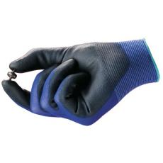 Gants manutention fine bleu noir HyFlex® Ultra Lite 11 618