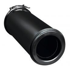 Conduit de finition double paroi isolé Duoten laqué noir