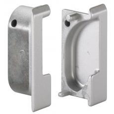Poignée profil aluminium recoupable Spira - kits d'embouts