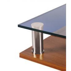 Entretoises à assembler - fixations hautes et basses pour tube Ø 25 mm