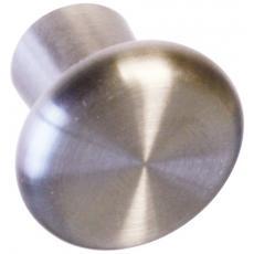 Boutons champignon plat inox
