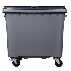 Conteneur 4 roues 770 litres - préhension latérale