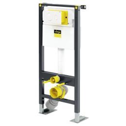 Bâti-support WC autoportant Prévista avec plaque de commande Visign for Style