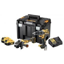 Kit 2 outils sans fil XR 18V - 5Ah - perceuse DCD791 + meuleuse DGC405