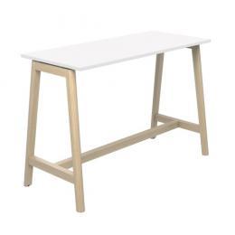 Table de réunion haute Net Wood