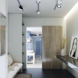 Kit pour portes coulissantes murales TRICKS - vantail de 50 kg