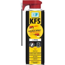 Lubrifiant dégrippant KF 5 double spray, aérosol de 500 ml net