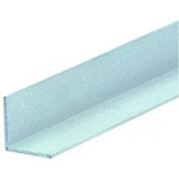 Cornières égales aluminium finition argent satiné