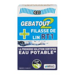 Pack Pâte Gebatout2 500g + Filasse de lin peignée RT1 80g