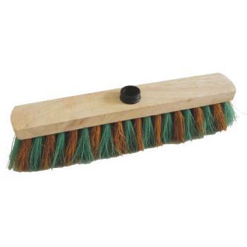 Balais d extérieur fibres monture bois