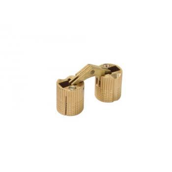 Charnière invisible spécifique cylindriques à encastrer 180°