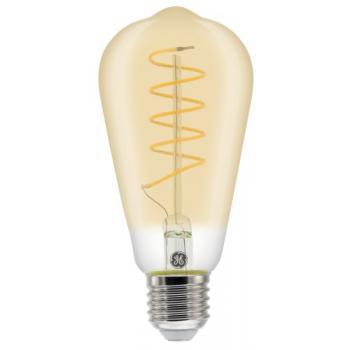 Lampe LED Heliax à filament ST64 ambrée E27