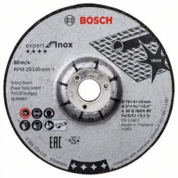 Disques à ébarber Expert for Inox Ø76 mm
