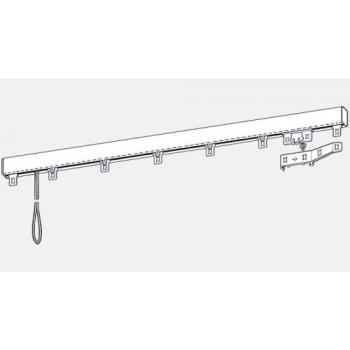Tringles chemin de fer montées DURALAC - Aluminium