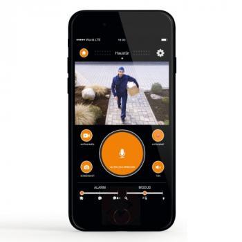 Applique à détection avec caméra Wi-Fi intégrée L600 Cam