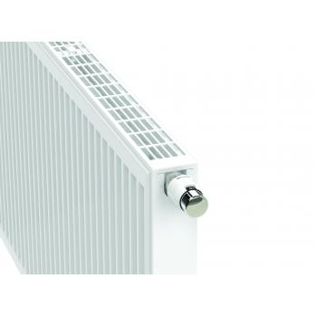 Radiateur panneau acier eau chaude horizontal Novello 8 connections