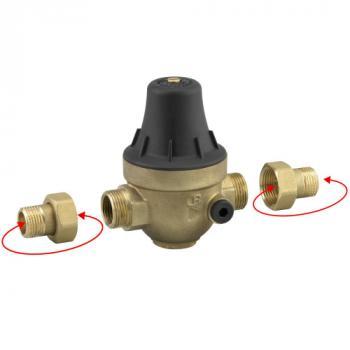 Réducteur de pression de réseau Roscana multi-fileté réglable