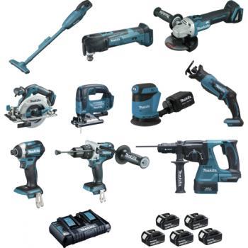 Kit 10 outils sans fil - DLX1011PTJ