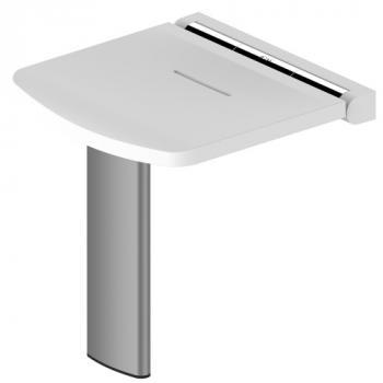 Siège de douche relevable à assise ergonomique Onyx