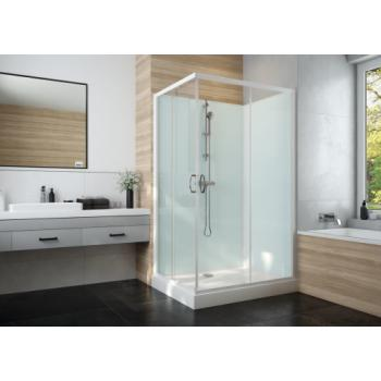 Cabine de douche carrée à portes coulissantes Iziglass 2