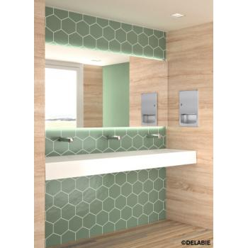 Mitigeur de lavabo temporisé Tempomix 3 mural encastré