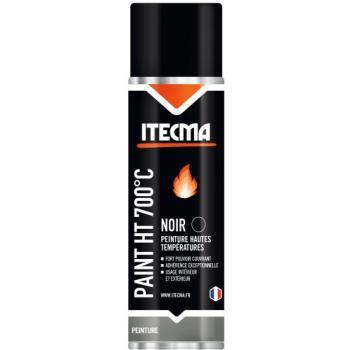 Peinture anticorrosion paint 700°C noir