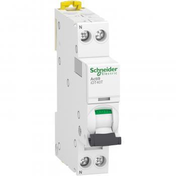 Disjoncteur modulaire 1P+N Acti9 iDT40T