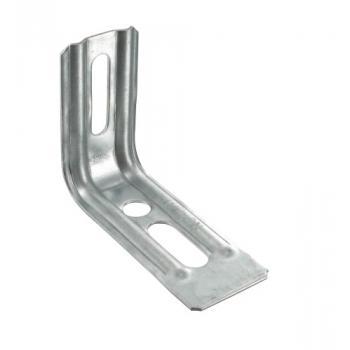 Équerres nervurées droites END 1,5 mm acier galvanisé
