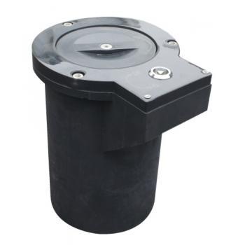 Base à sceller pour poteaux diamètre 80 mm
